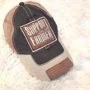 """""""Support Your Local Farmer"""" Snapback Hat"""